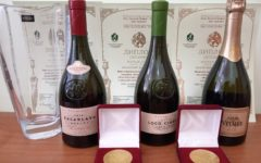 Zolotaya Balka agricultural firm has launched the first line of reserve wines