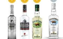 High international awards of Russian Standard and Żubrówka vodka brands